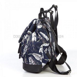 302 Рюкзак mini Перышки